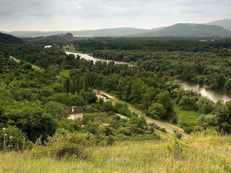 Výhľad z vrchu Sandberg