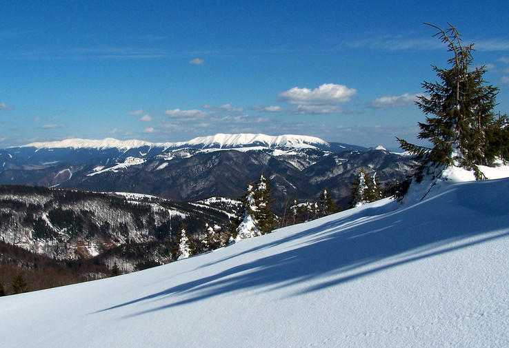 Nízke Tatry spod Suchého vrchu