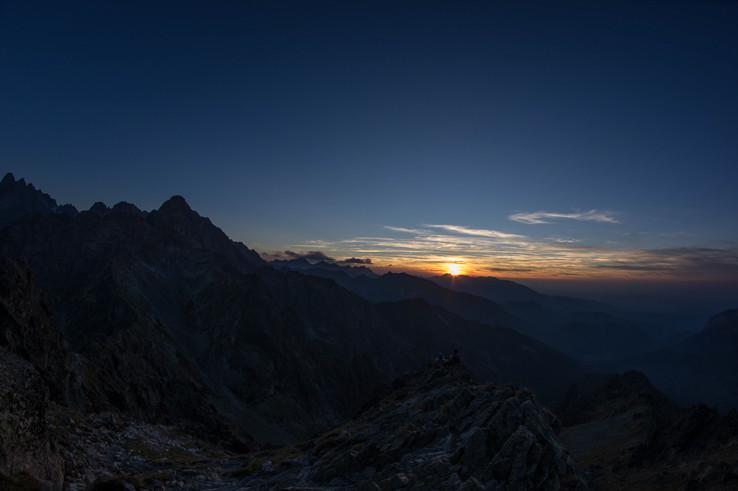 Západ slnka/Jahňací štít