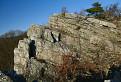 Kremencové skaly pod tribečskou Ploskou.