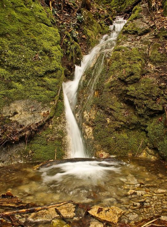 Vodopád(ik) v Hlboči