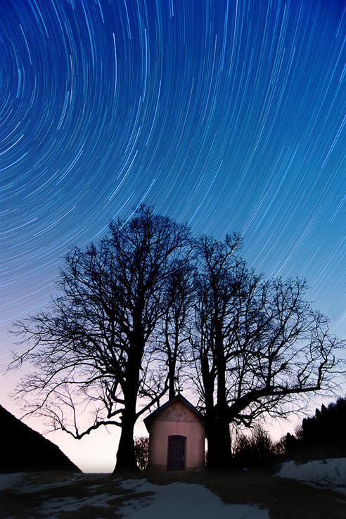 Hviezdne nebo v Slovenskom Krase