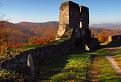 torzo bránovej veže na Hornom hrade