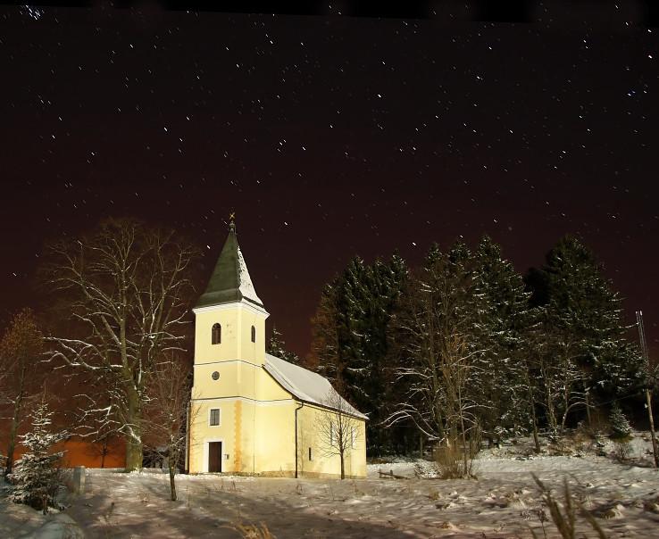 Kostolík na Krahuliach