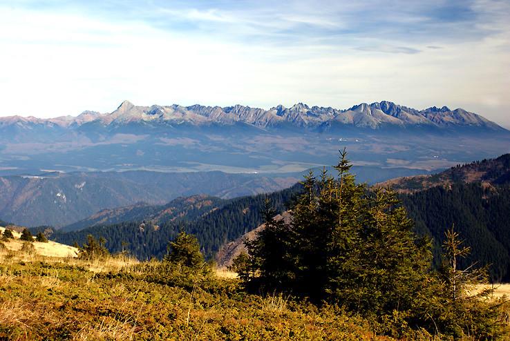 Jesenné výhľady z Veľkého boku III