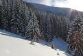 Snehom vyzdobení