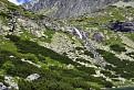 Vody Velického vodopádu padajú z výšky 1758 m.