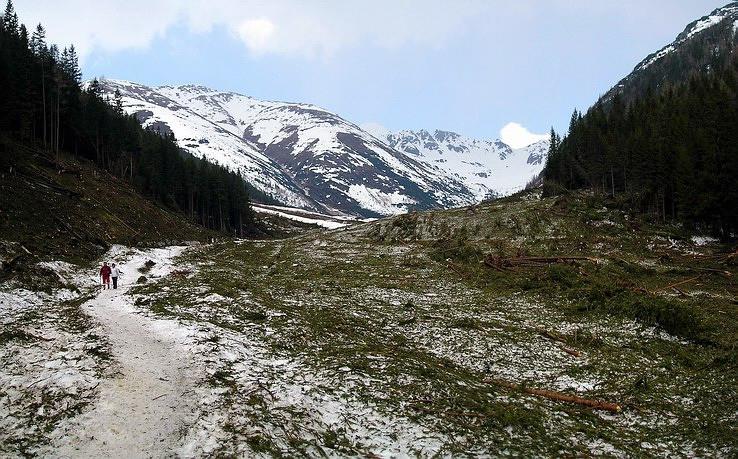 100-ročná lavína v Žiarskej doline I.