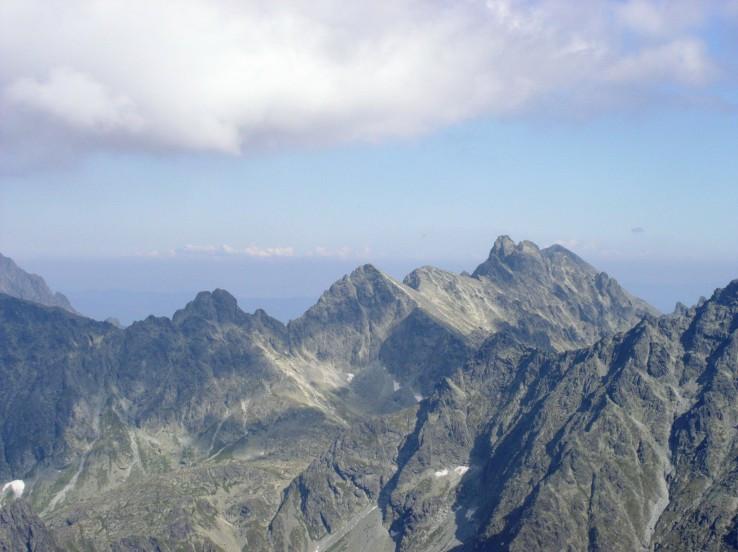 Centrálna časť Vysokých Tatier