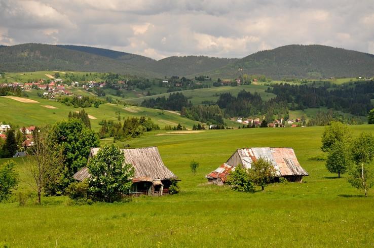 Malebné okolie Oravskej Lesnej