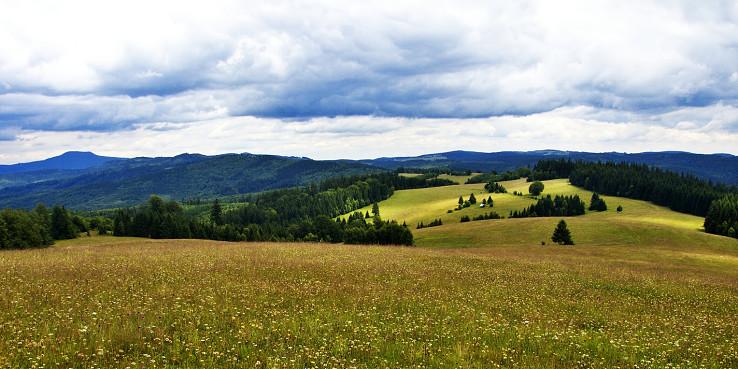 Krása Veporských vrchov