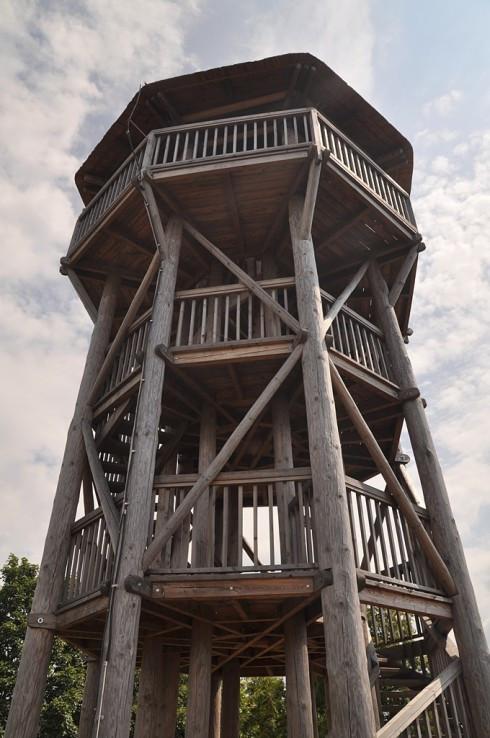 Rozhľadňa na Krahulskom štíte