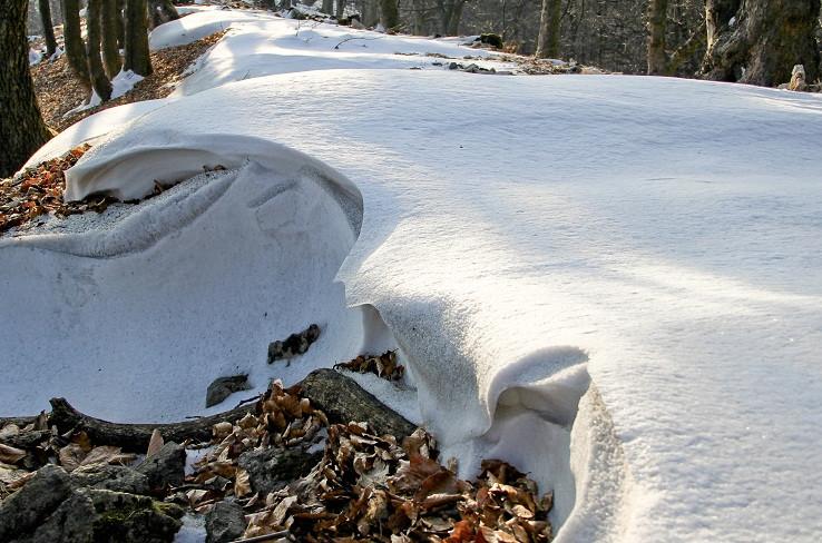 snežné vlnky