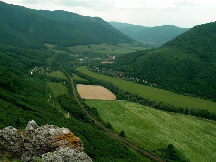 Pohľad z Janošíkovej Bašty