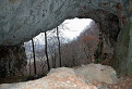 Pohľad z jaskyne