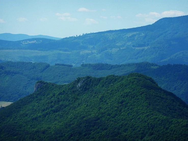 Hradová a Veporské vrchy