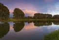 Podvečer na rybníku III.