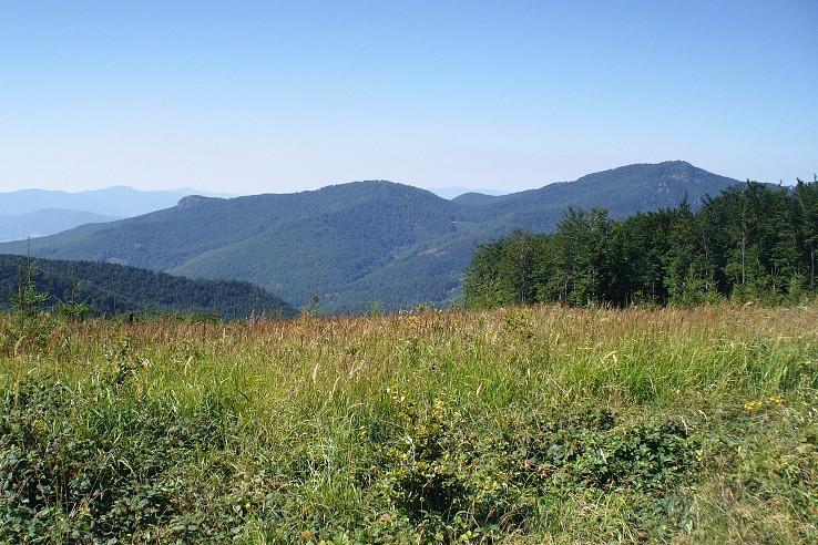 Žarnov (840 m) a Buchlov (1041 m)