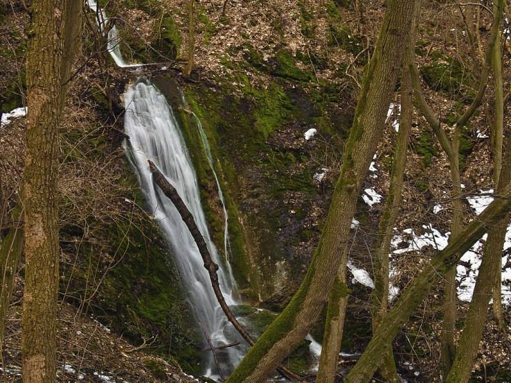 Občasný Hlbočský vodopád