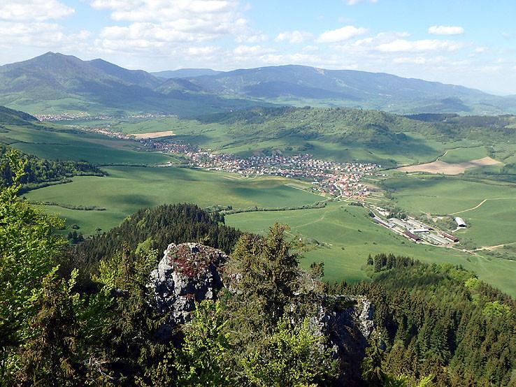 Pohľad z Hrdošnej skaly II.
