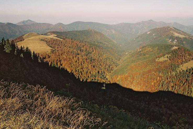 Ranný pohľad zo Skalnej Alpy