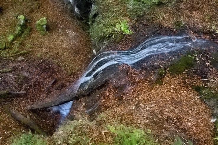 Strážovský spodný vodopád