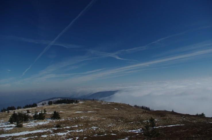 Kojšovská hoľa (1 245,7 m n. m.) - inverzia