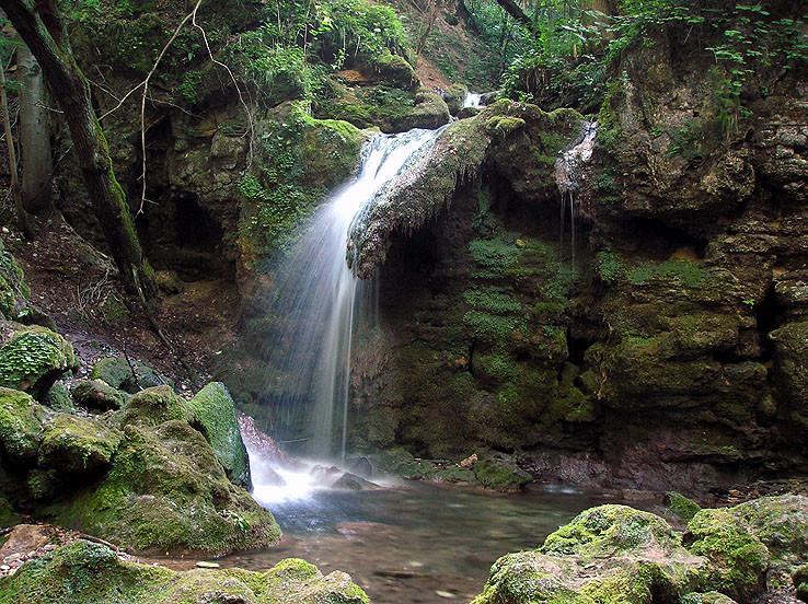 Hájske vodopády III.