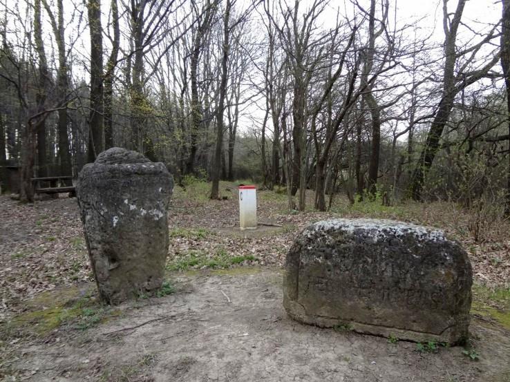 Hraniční kameny z roku 1736
