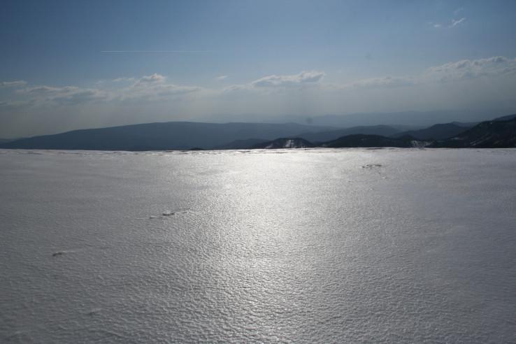 Snehové more