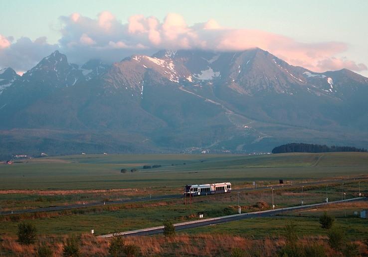 Skoré ráno pod Tatrami