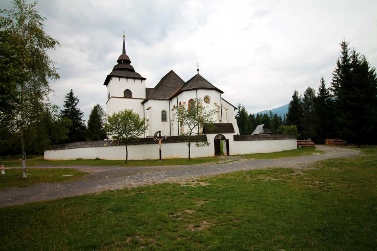 Ranogotický kostol v Pribyline