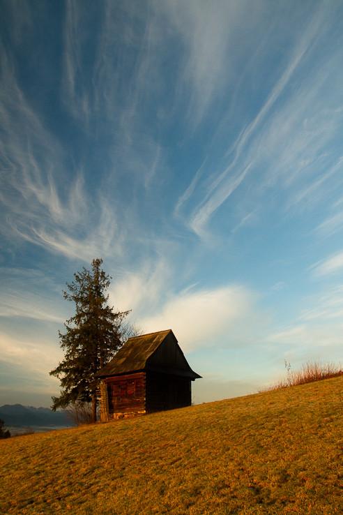 Domček a mraky