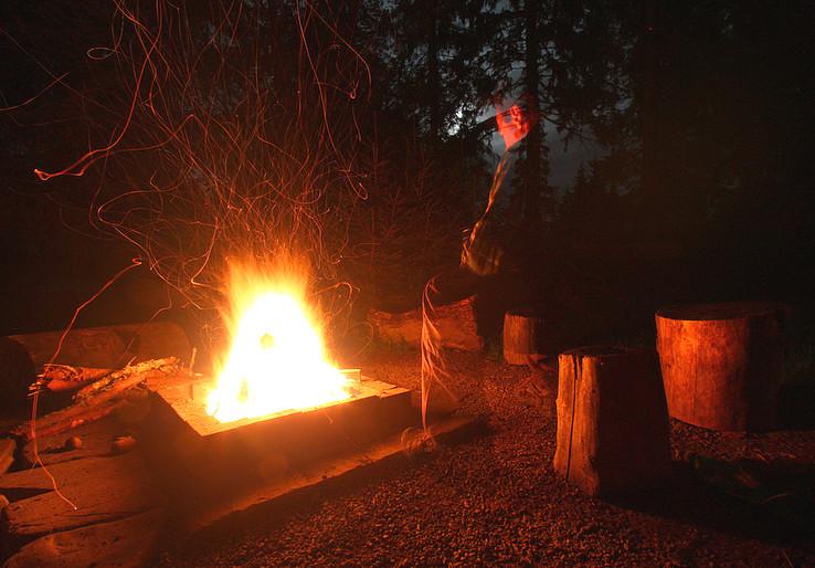 Melanchólia pri ohni.
