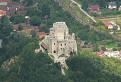 Netradičný pohľad na hrad Strečno