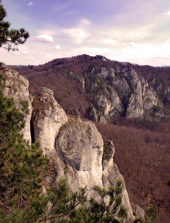 Roháč v Súľovských vrchoch
