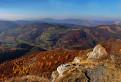 Jesenná krajina nad Kojšovom