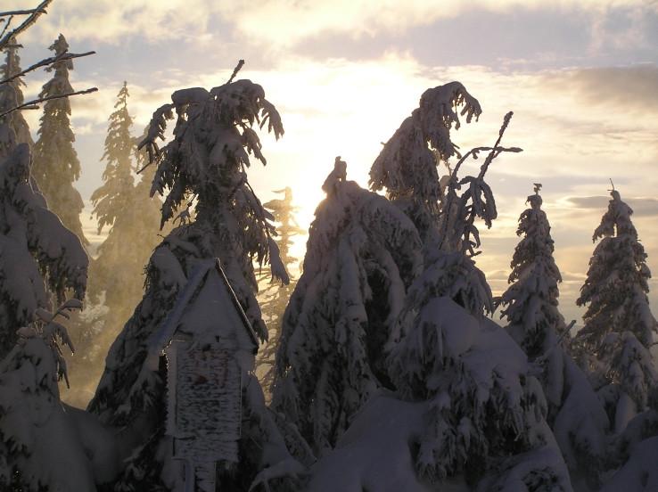 Horiaci sneh