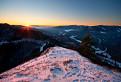 Západ slnka na Znieve...