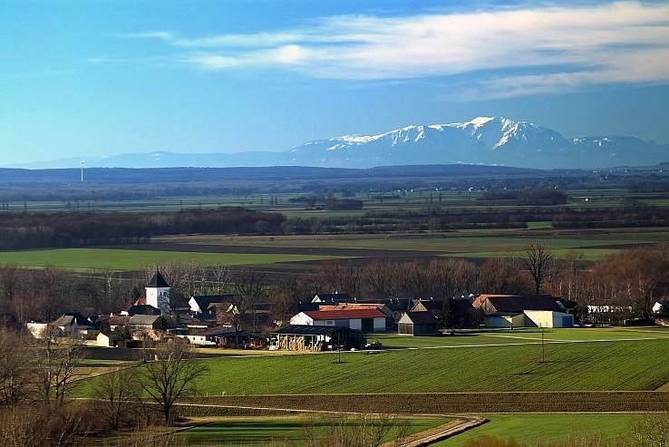 Alpy z Devinskej alias Markthof a Schneeberg