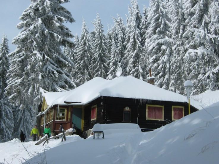 chata Volovec pod Skaliskom