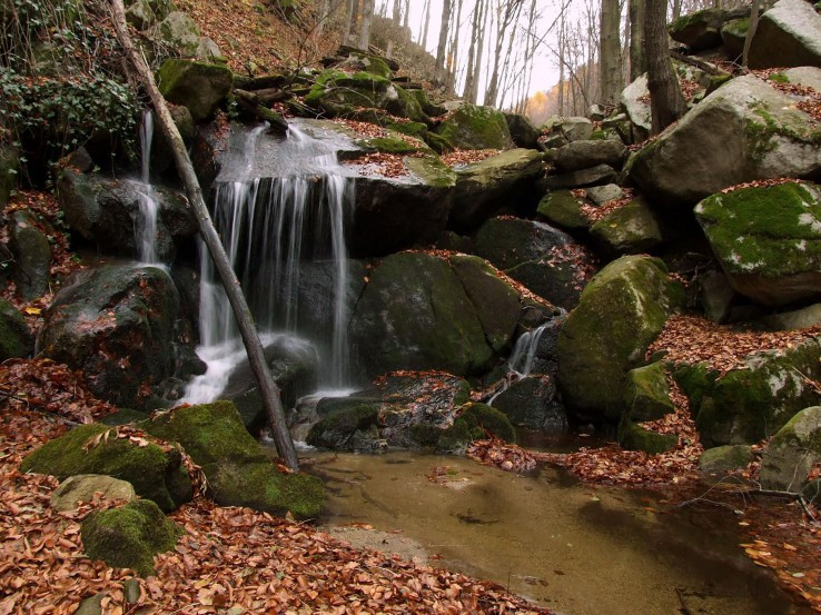 Vodopády na Vrbinskom potoku