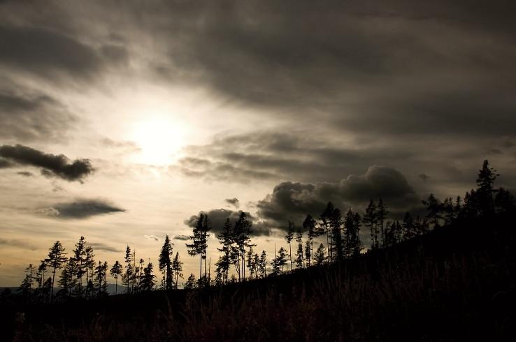 západ slnka III.