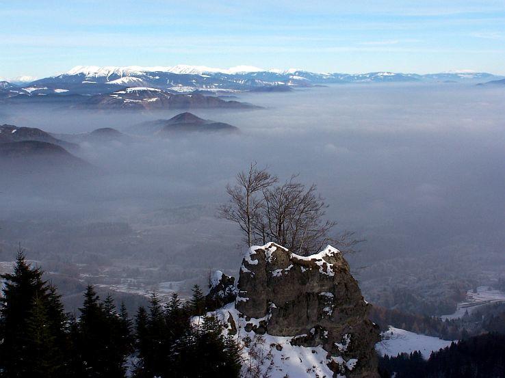Zima na Suchej hore