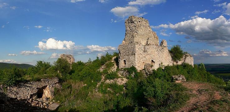 Jadro Turnianského hradu