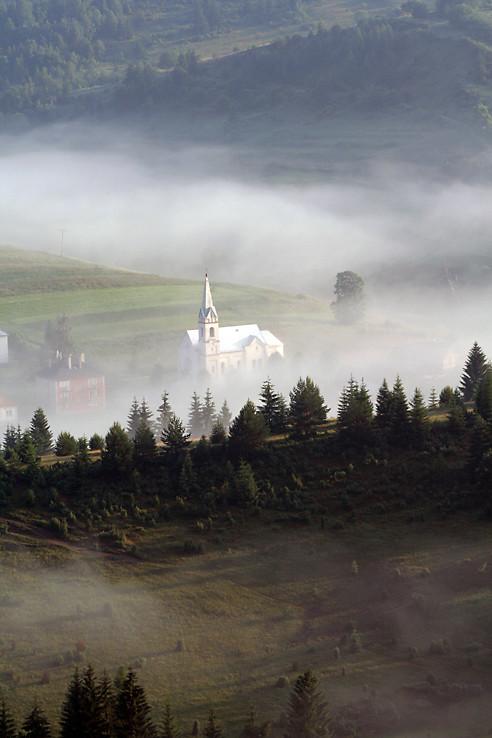 Kostolík v Hutách