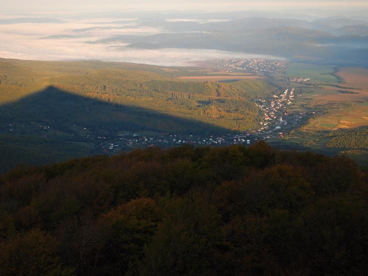 Údolie Cirochy zo Sninského kameňa
