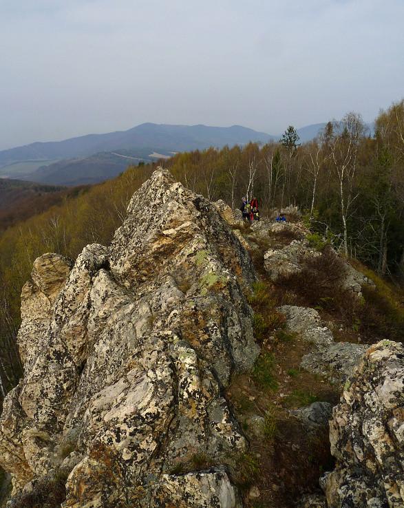 skalné mesto Koľvek