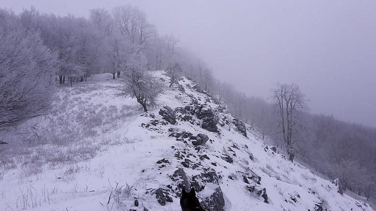 Zimný výstup na Jelenec