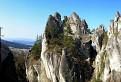 Jeden z najkrajších skalných útvarov